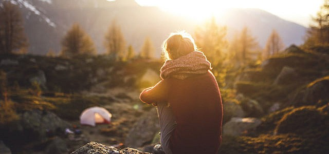 Stress abbauen Tipps Entspannung Natur