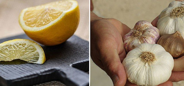 Mit Knoblauch und Zitrone abnehmen