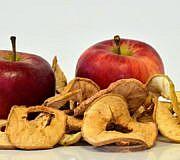 Apfel Apfelringe Apfelscheiben Trocknen