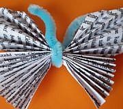 Papierschmetterling