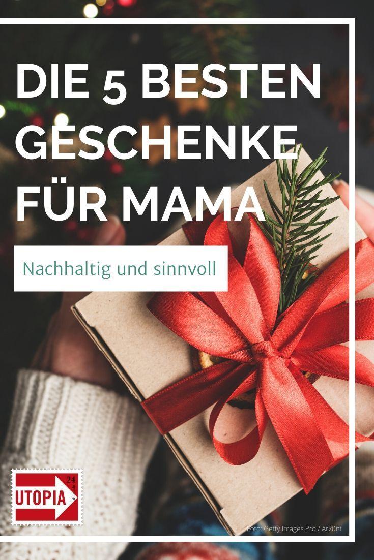 Die 5 Besten Geschenke Fur Mama Nachhaltig Und Sinnvoll Utopia De