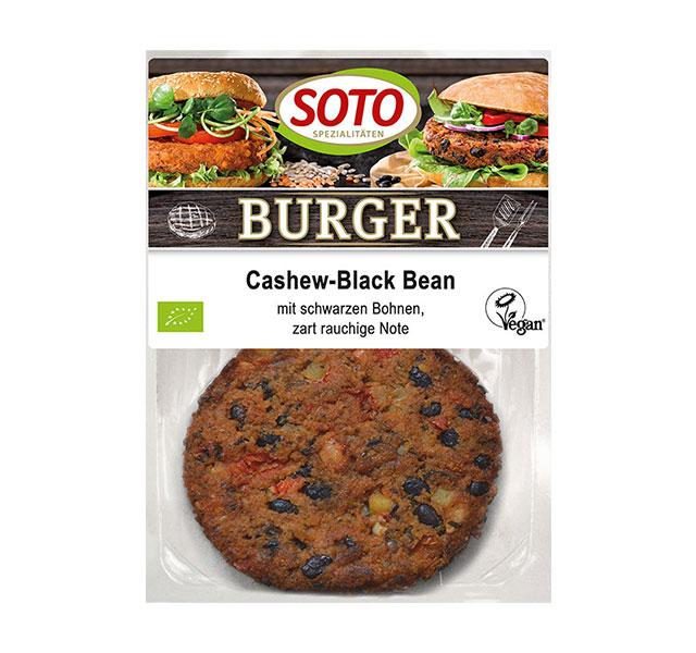 Soto Burger Cashew Black Bean