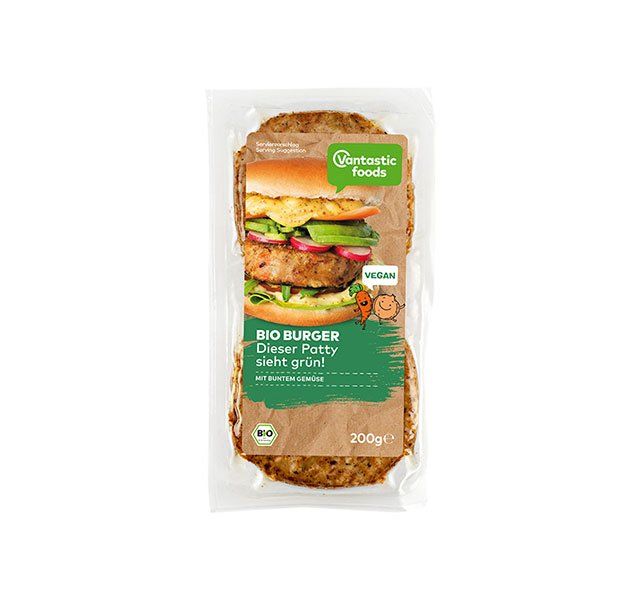 Vantastic Foods Bio Burger