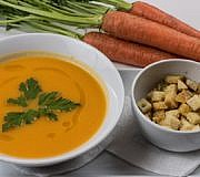 Karotten Möhren Suppe Rezept Kürbis Pastinake