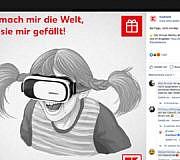 Pippi Werbung Kaufland VR-Brillen