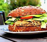 veganer hamburger