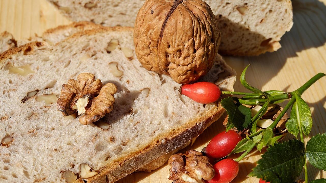 Walnussbrot: Rezept zum Selberbacken