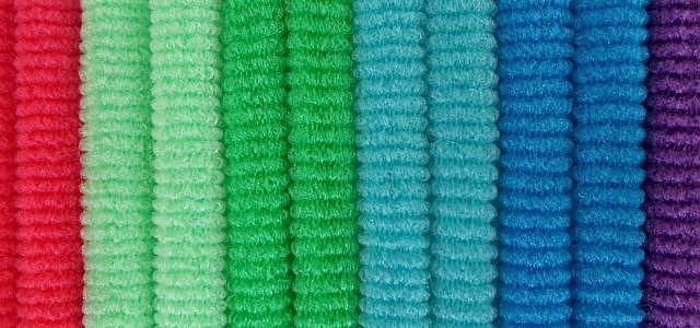 Elastan ist eine synthetische Faser