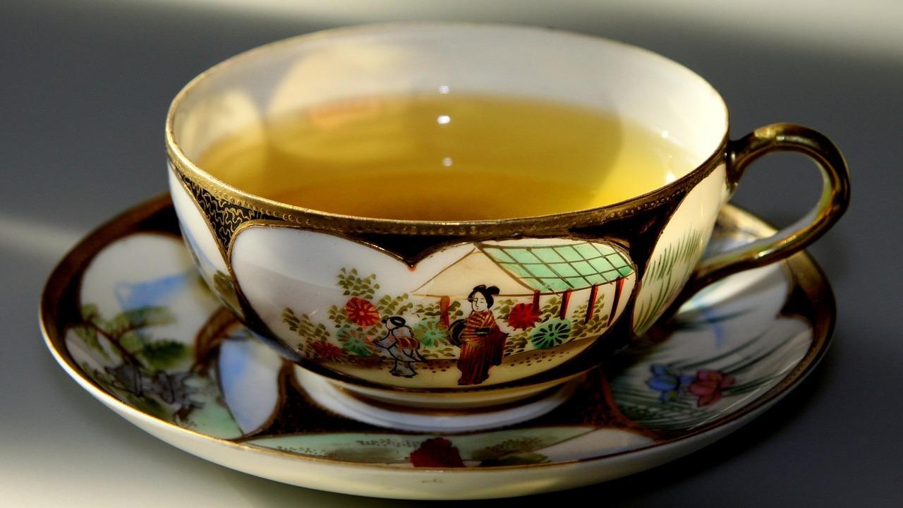 Grüner Tee zum Abnehmen Zubereitung von