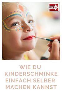 Kinderschminke selber machen: Rezept zu Fasching