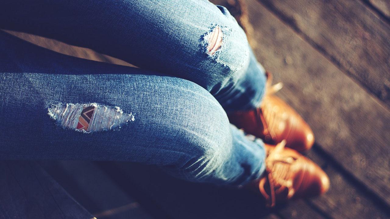 Ohne drunter jeans was nichts drunter