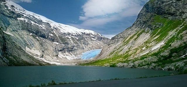 Gletscher schmelzen