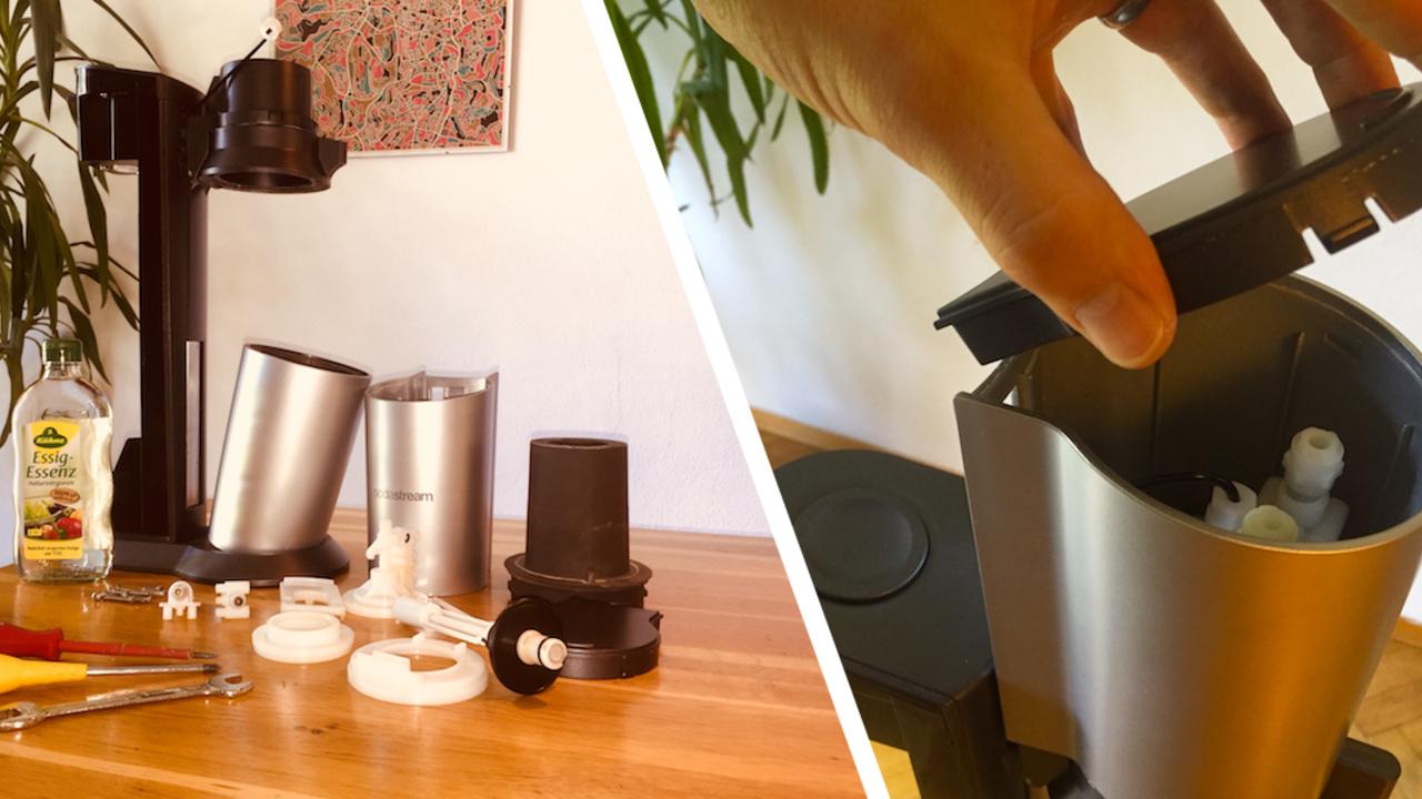 Sodastream Reinigen Wassersprudler Mit Hausmitteln Entkalken Utopia De