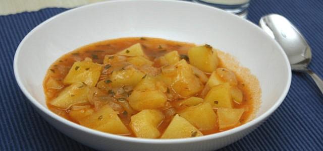 Kartoffelgulasch vegan