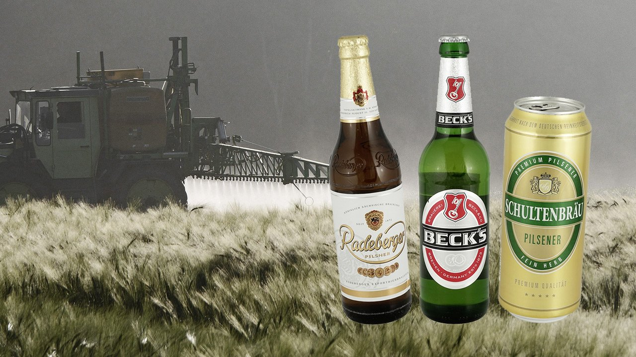 Glyphosat: Öko-Test testet 43 Biere – Ergebnisse gratis abrufbar