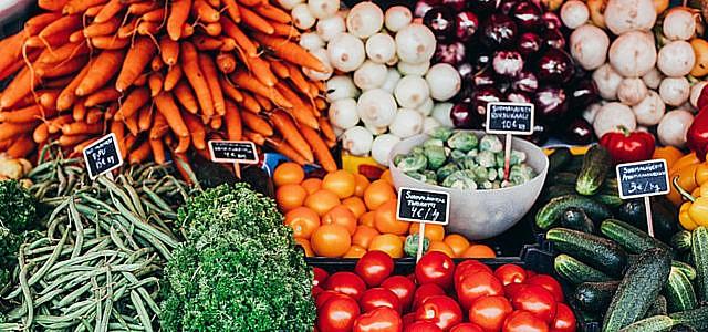 Lebensmittel und deren Klimabilanz im Vergleich
