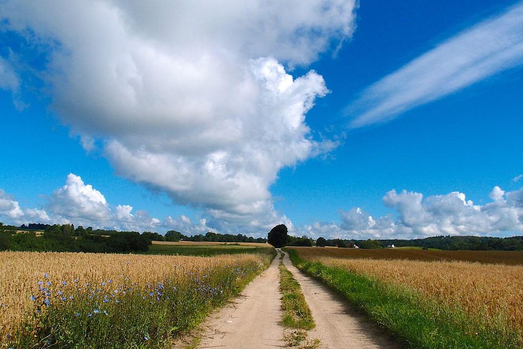 Wandern in den Masuren, Polen