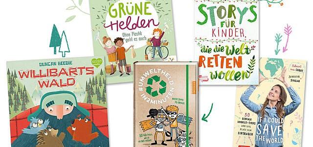 Kinderbücher rund um Umweltschutz und Nachhaltigkeit