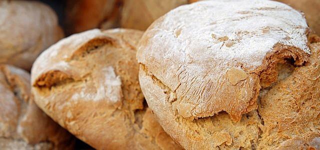 Brot auftauen