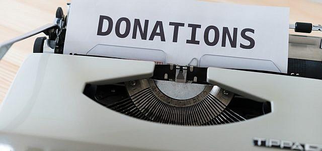 Spenden sammeln.