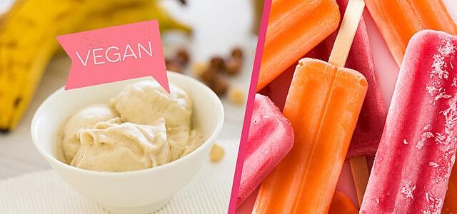 Voll im Trend: Veganes Eis