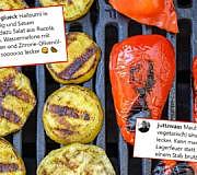 grillen ohne fleisch, vegetarisch