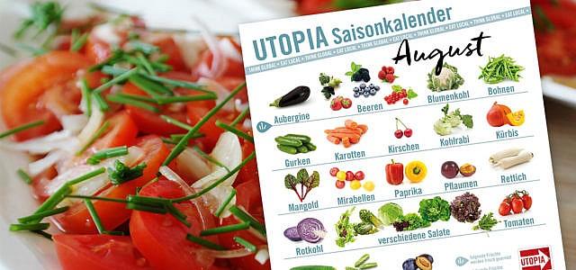 Utopia Saisonkalender August
