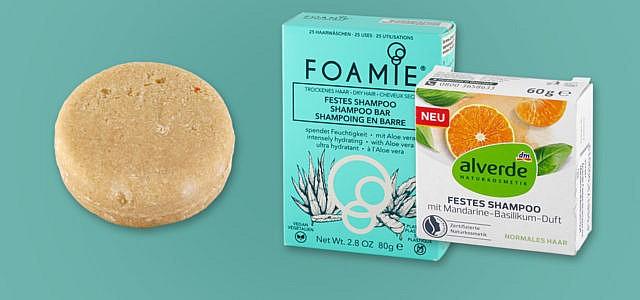 Öko-Test festes Shampoo und Haarseife