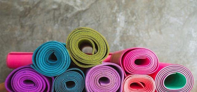 Yogamatte reinigen