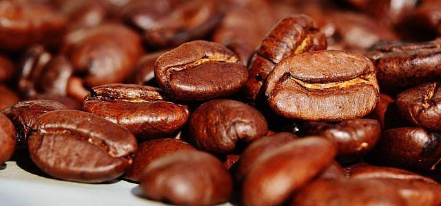 kaffee gesund Geröstete Kaffeebohnen