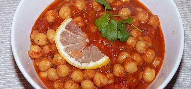 kichererbsen curry vegan