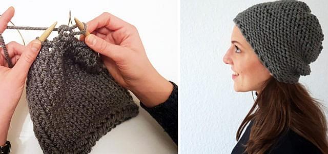 Mütze selber stricken
