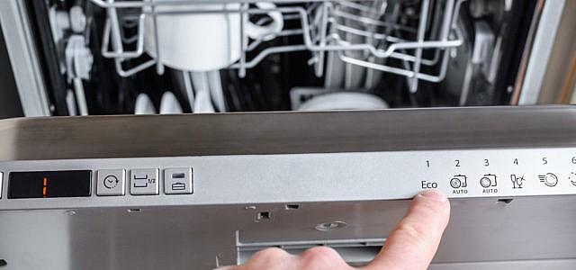Spülmaschine mit Ökoprogramm