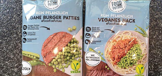 Veganer Fleischersatz bei Penny