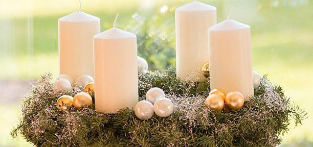 Kerzen für den Adventskranz: Darauf solltest du achten