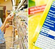 Lebensmittel Inhaltsstoffe lesen