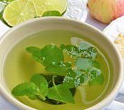 Zitronenmelissen-Tee