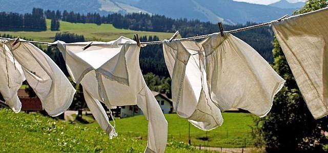 Wäsche schnell trocknen