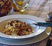 champignon risotto