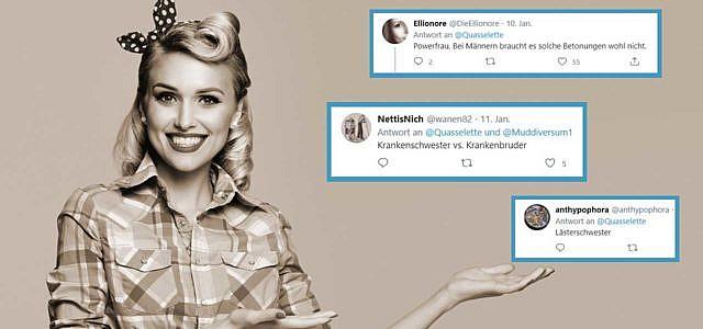 Twitter, Thread, Geschlecht, Begriffe