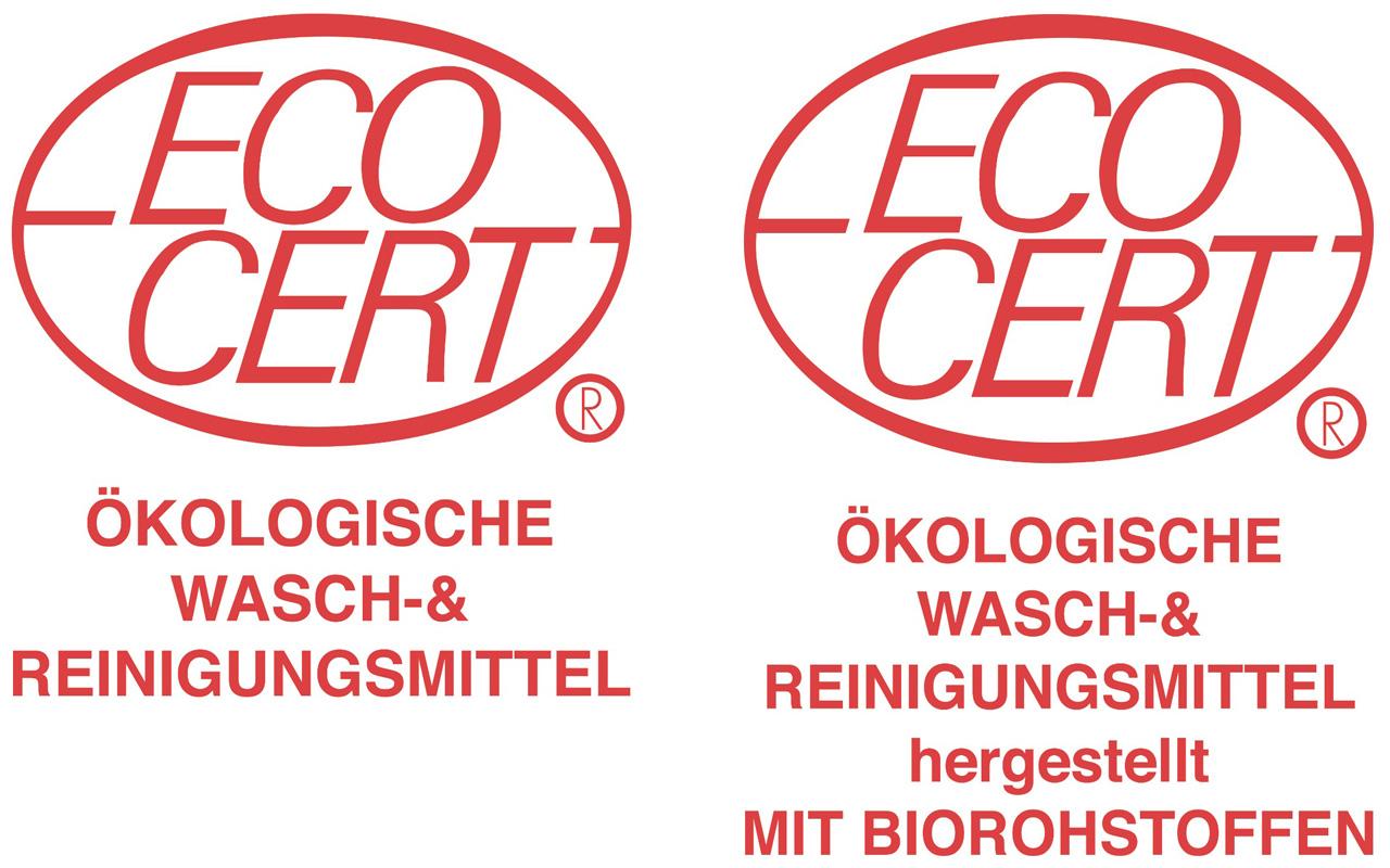 Ecocert Siegel Wasch- und Reinigungsmittel