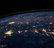 klima coronavirus klimawandel erde nacht