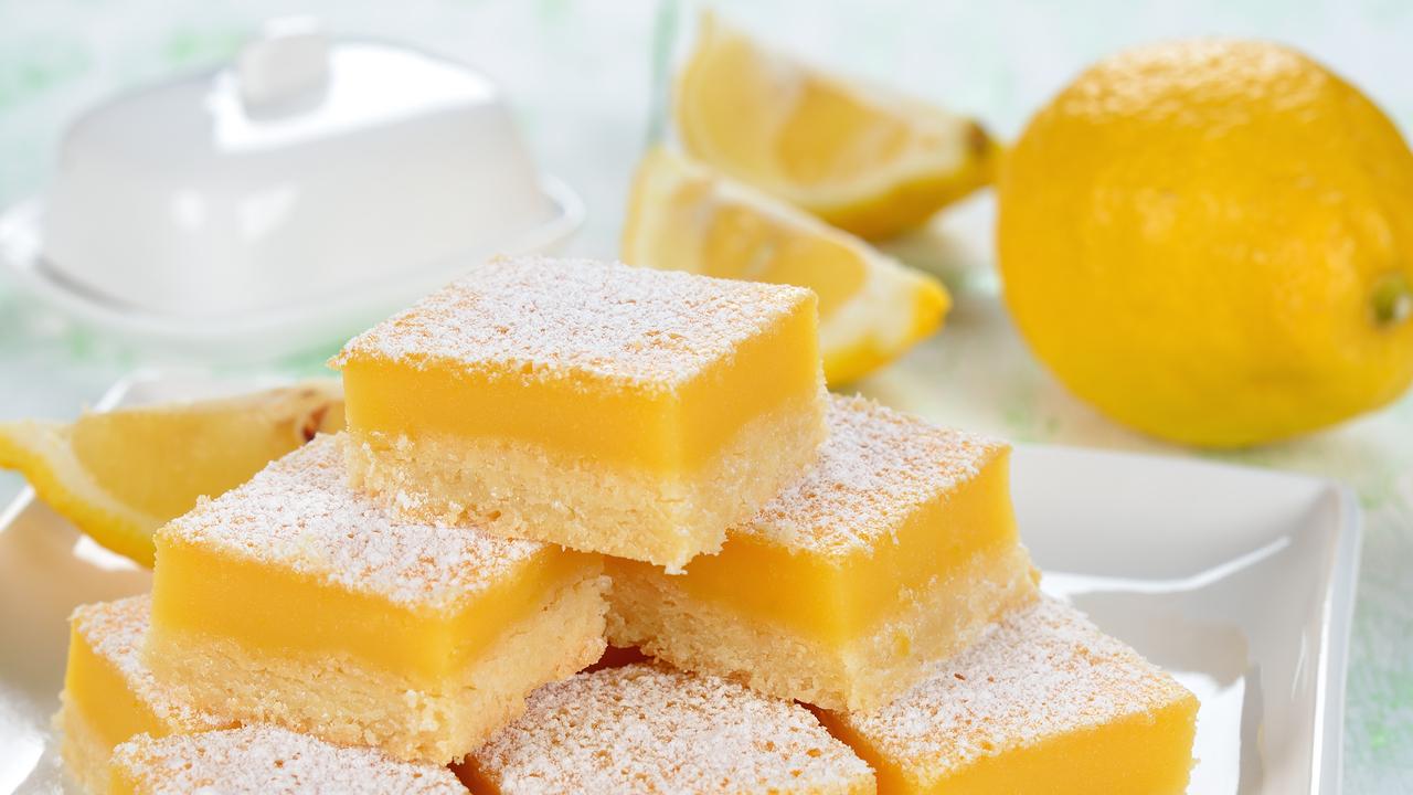 Lemon Bars: Rezept für die amerikanischen Zitronenschnitten