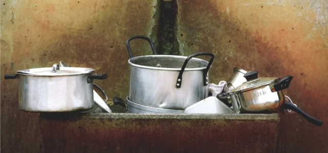 Nachhaltige Kochtöpfe sind robust und fair produziert.