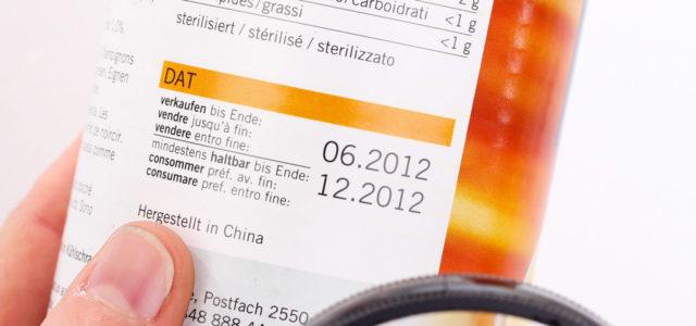 Umfrage Food Waste Lebensmittelverschwendung Mindesthaltbarkeitsdatum