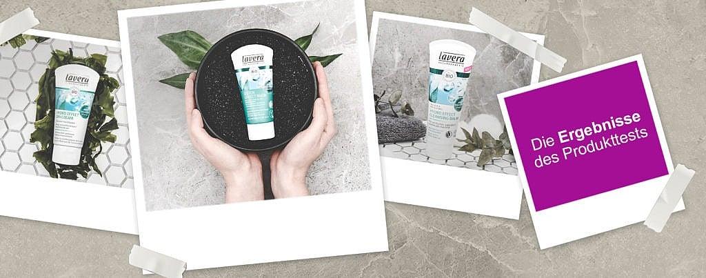 lavera Hydro Effect Pflegeserie Feuchtigkeitspflege Detox Maske