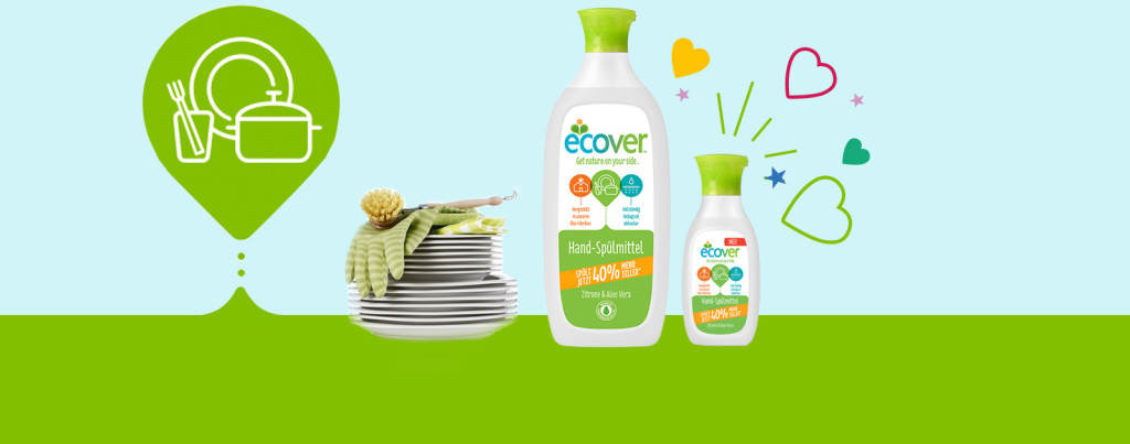 Produkttest Hand-Spülmittel Ecover