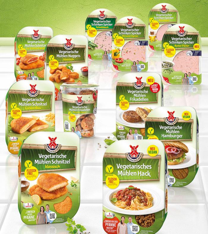 Rügenwalder vegan vegetarisches Sortiment