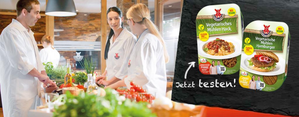 Rügenwalder Mühle Produktentwicklung vegan