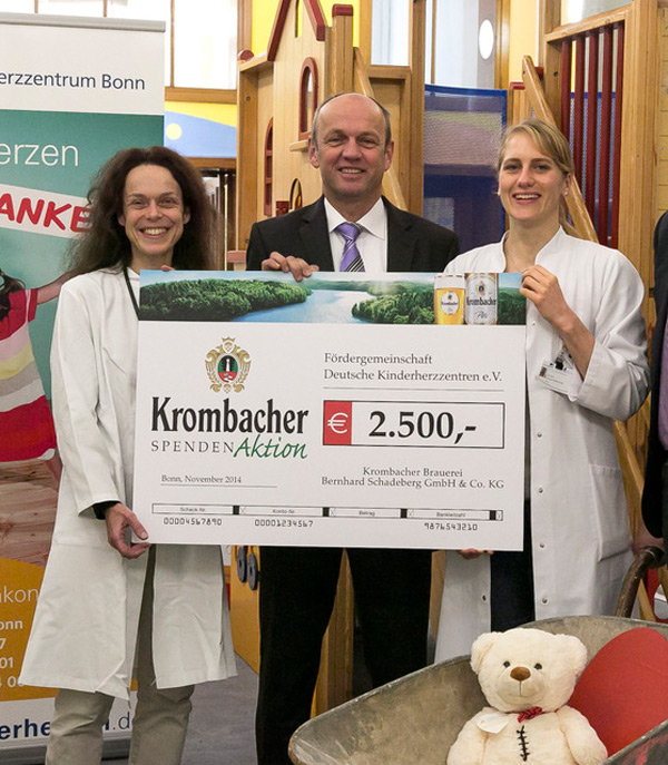 Krombacher Spendenaktion
